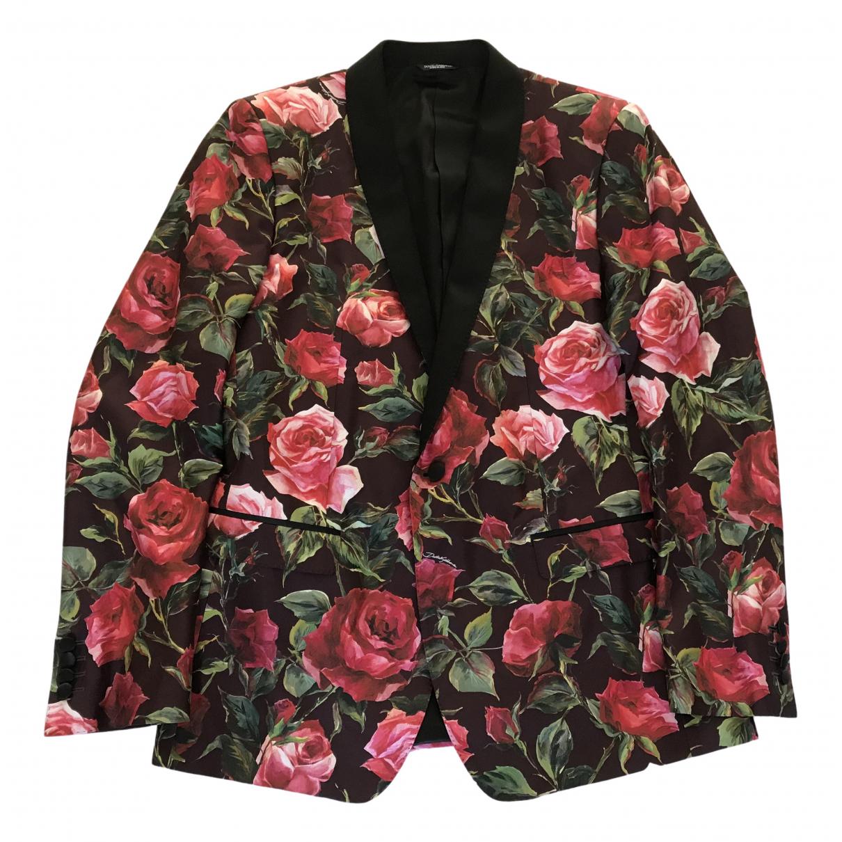 Dolce & Gabbana - Vestes.Blousons   pour homme en soie - multicolore