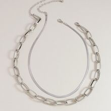 2pcs Chain Necklace