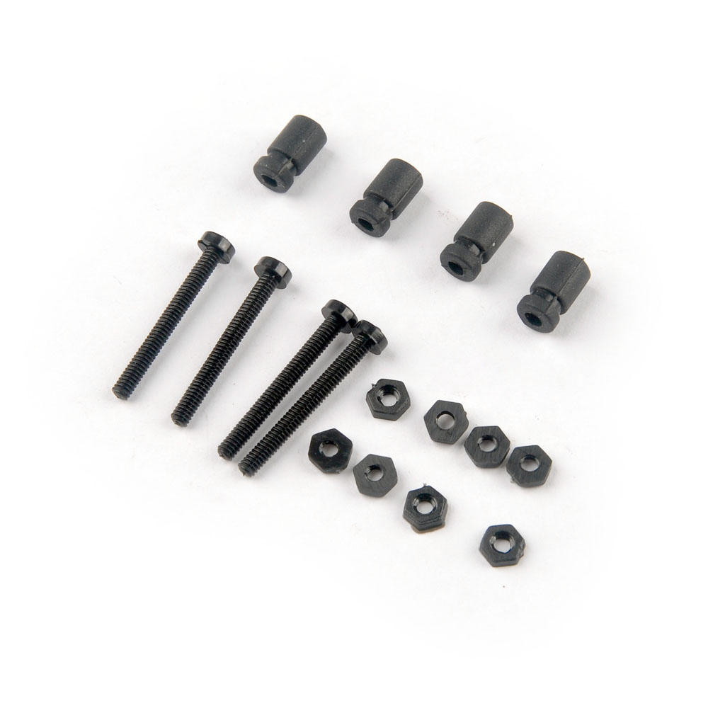 Happymodel Sailfly-X Spare Part M2*18 Mounting Screw & M4 Anti-vibration Rubber Damping Ball for Flight Controller
