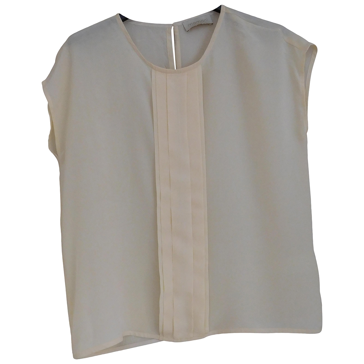 Momoni \N Ecru Silk  top for Women 36 FR