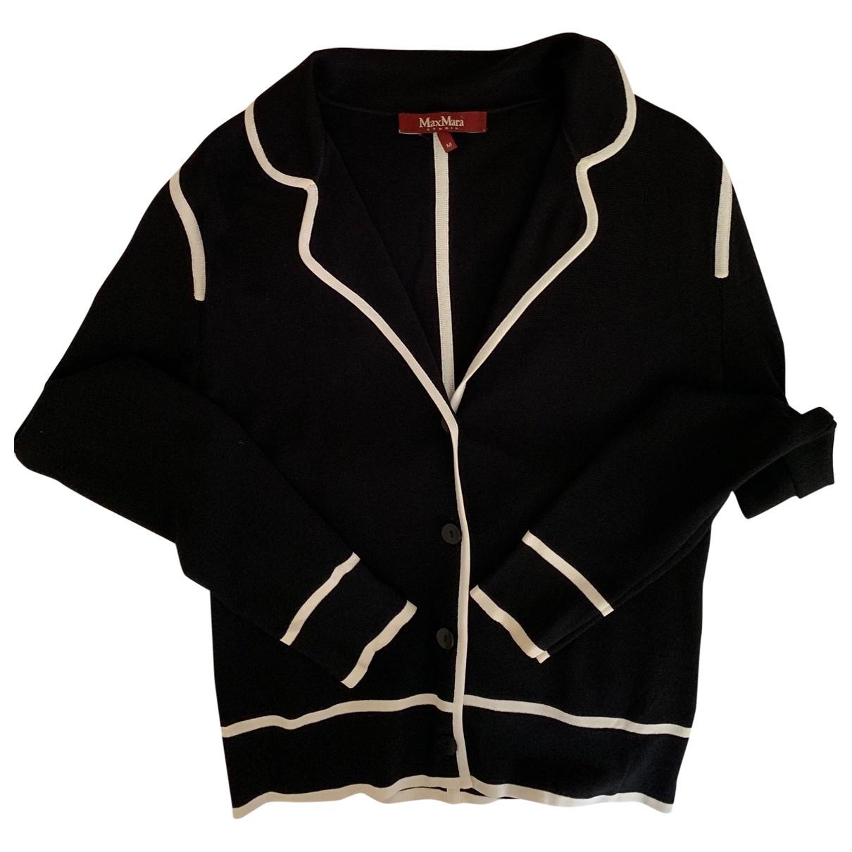 Max Mara Studio \N Black jacket for Women M International