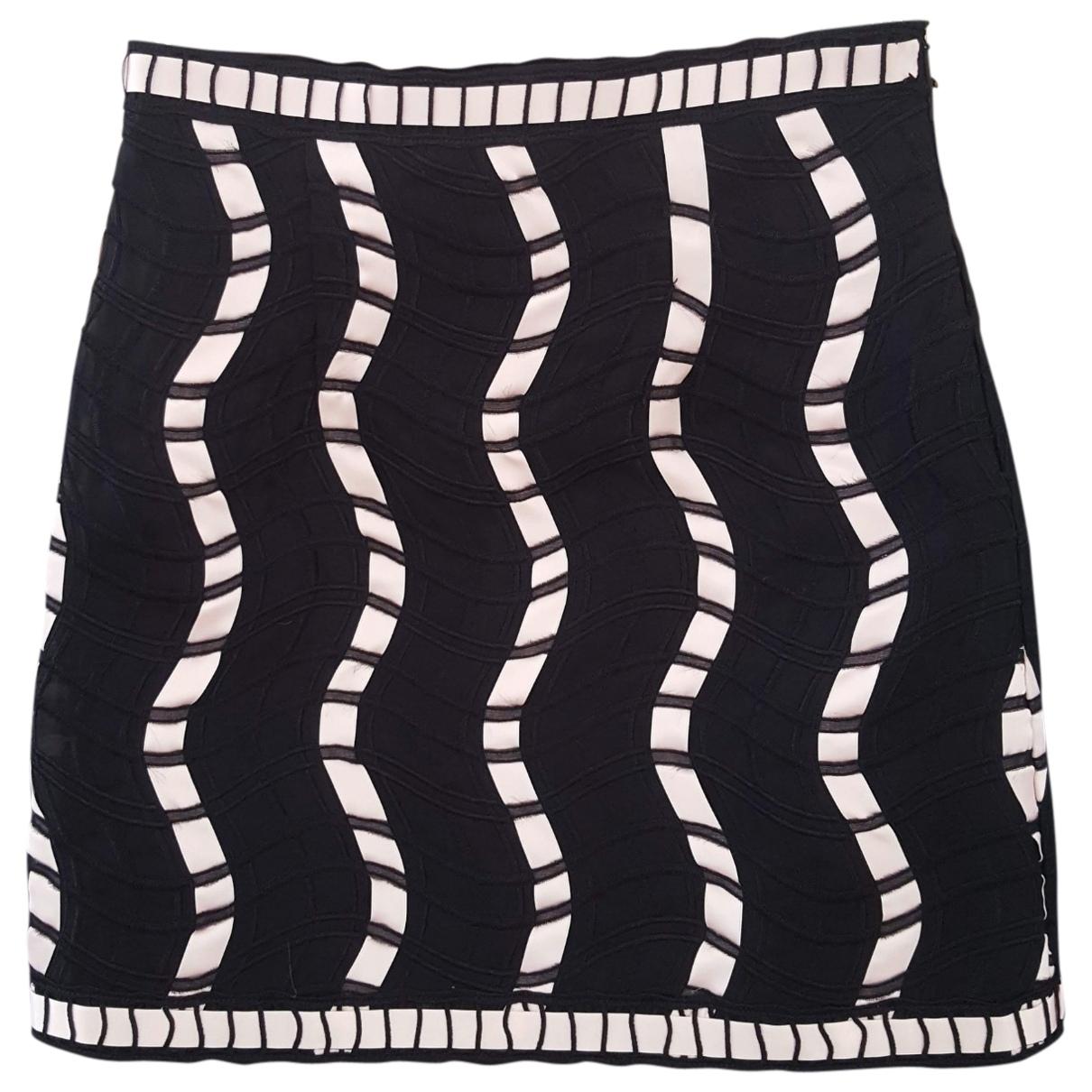Christopher Kane \N Black Silk skirt for Women 8 UK