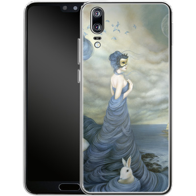 Huawei P20 Silikon Handyhuelle - Where Time Beckons the Wicked von Dan May