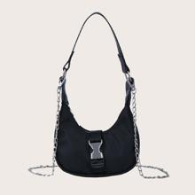 Mini Release Buckle Baguette Bag