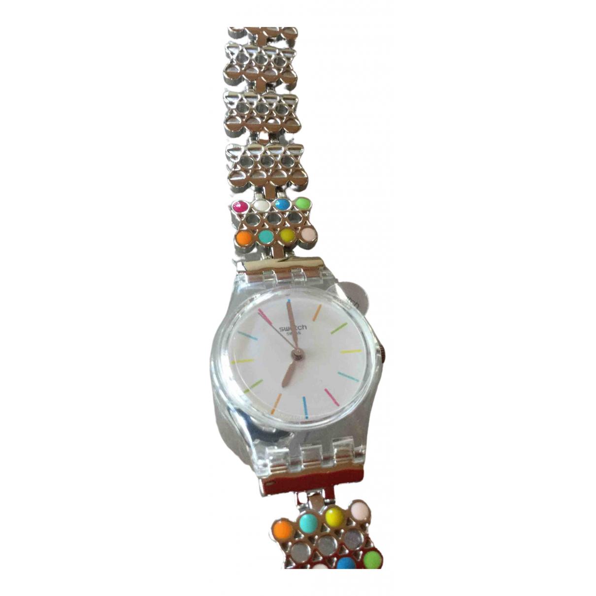 Swatch - Montre   pour femme en autre - multicolore