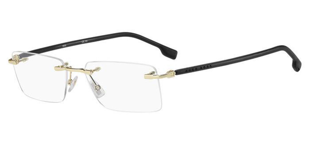 Boss by Hugo Boss Boss 1011 RHL Men's Glasses Gold Size 56 - Free Lenses - HSA/FSA Insurance - Blue Light Block Available