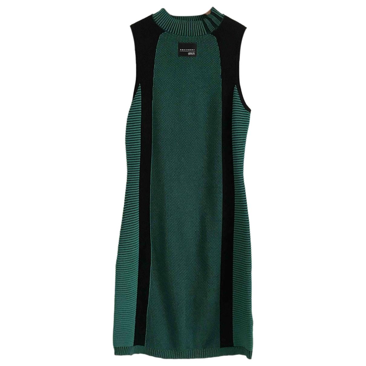 Adidas - Robe   pour femme - vert