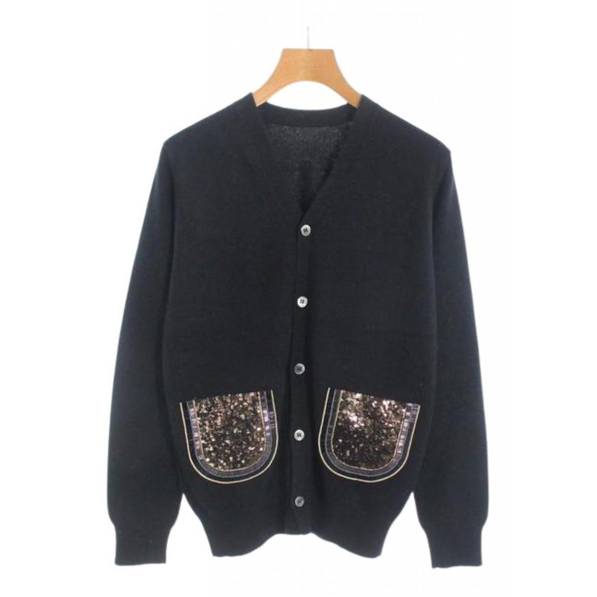 Comme Des Garcons N Black Wool Knitwear for Women M International