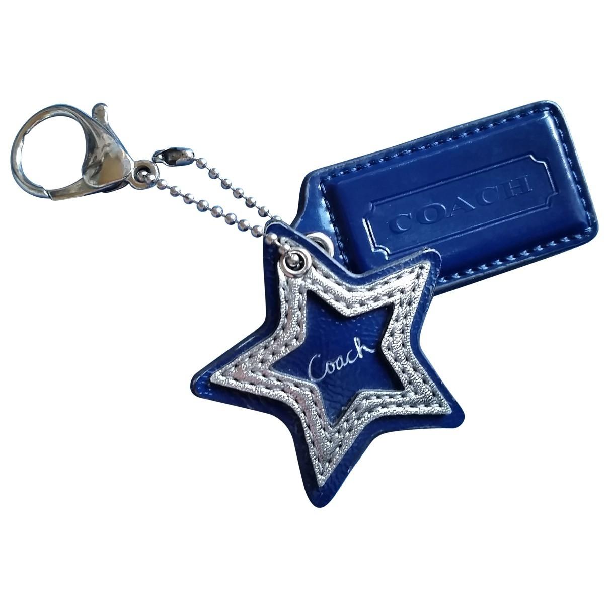 Coach \N Navy Metal Bag charms for Women \N