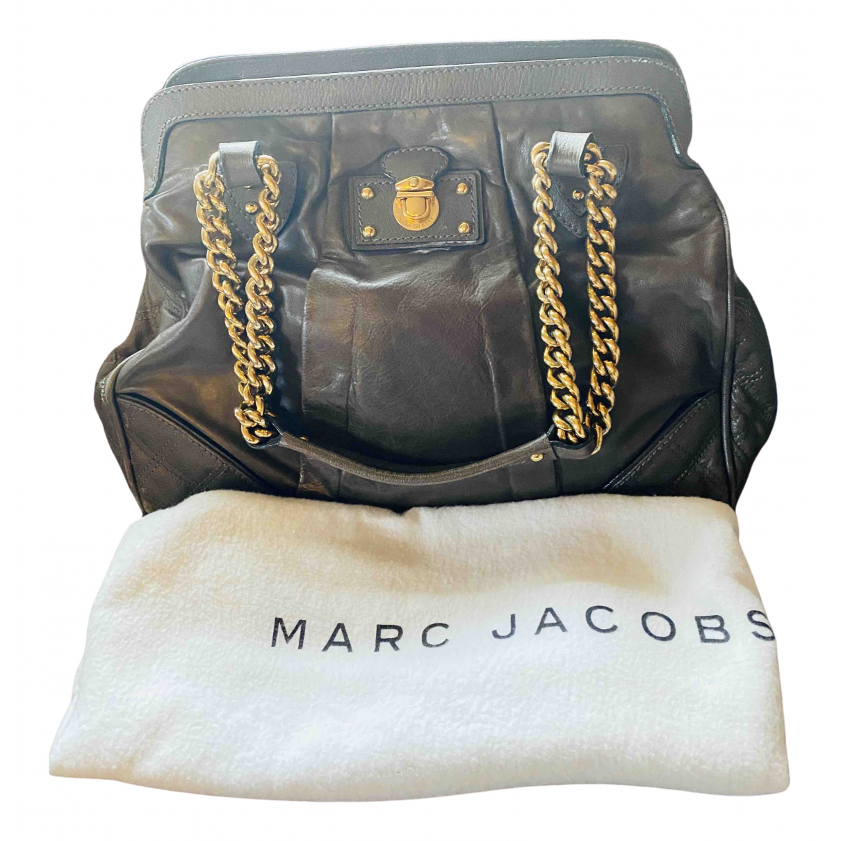 Marc Jacobs N Khaki Leather handbag for Women N