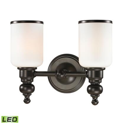 11591/2-LED Bristol Collection 2 Light bath in Oil Rubbed Bronze-