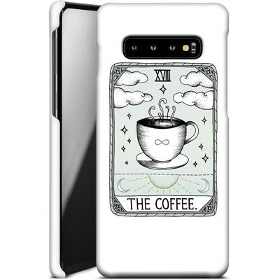 Samsung Galaxy S10 Plus Smartphone Huelle - The Coffee von Barlena