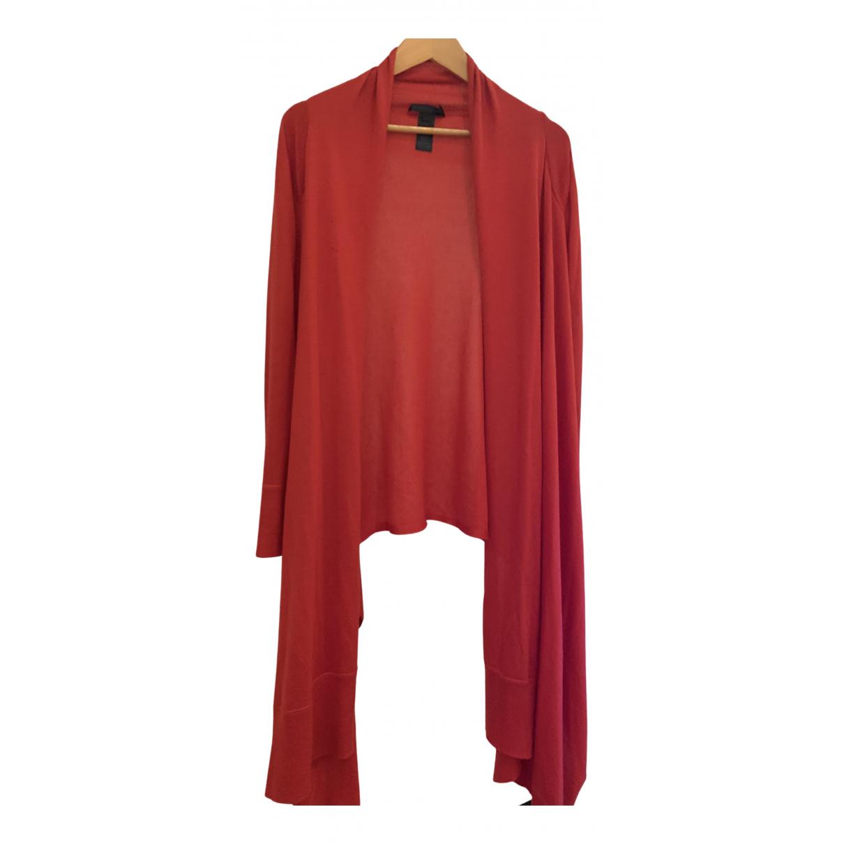Donna Karan \N Pullover in  Rot Kaschmir