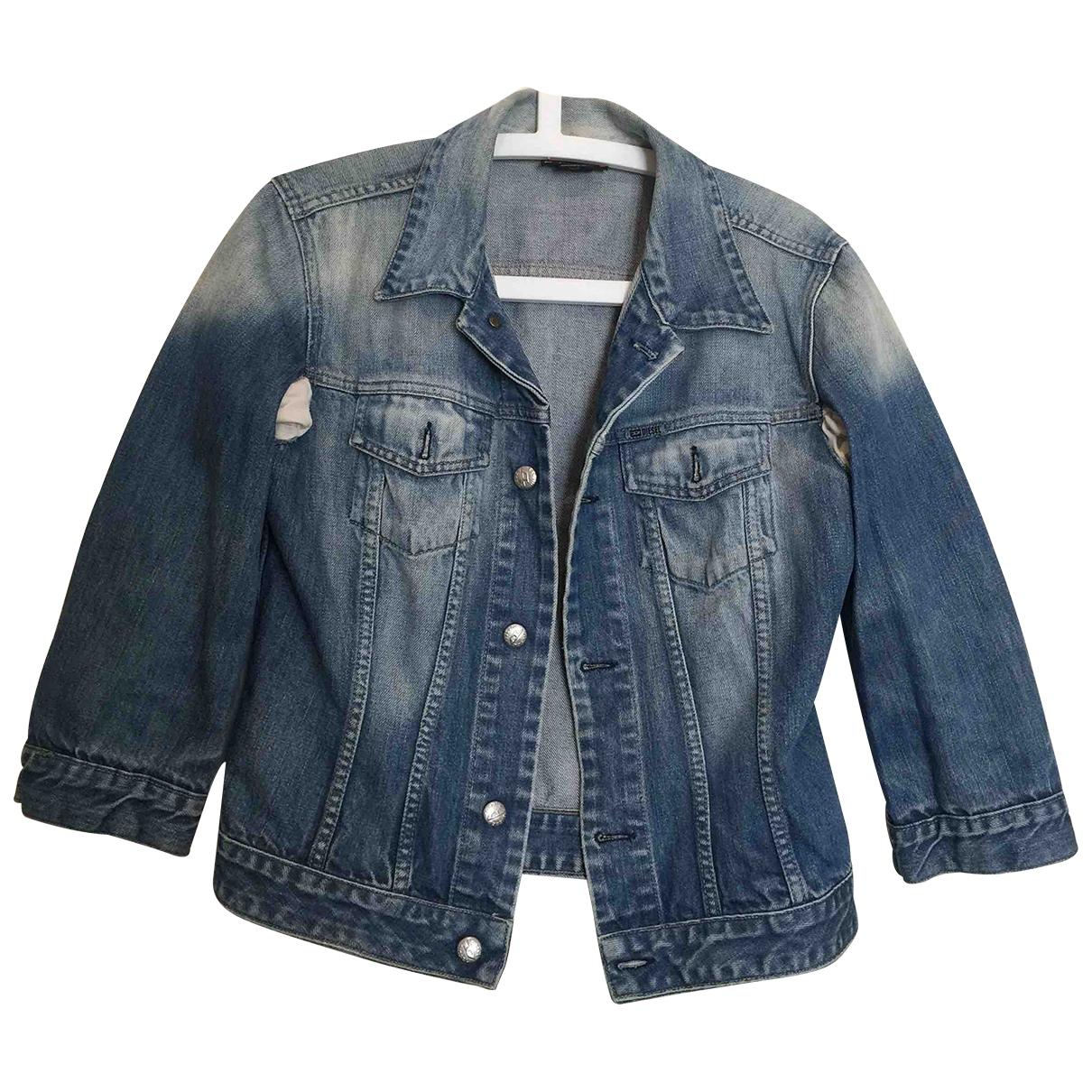 Diesel \N Jacke in  Blau Denim - Jeans