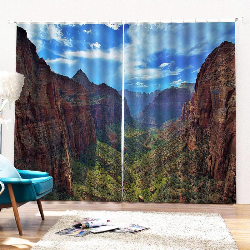 Beddinginn 3D Modern Sky Decoration Curtains/Window Screens
