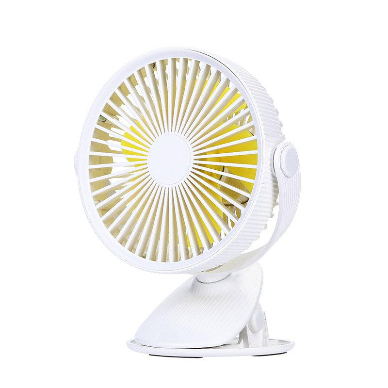 Mini Portable Personal Table Fan with Clip for Baby Bed Car Office Outdoor Traveling