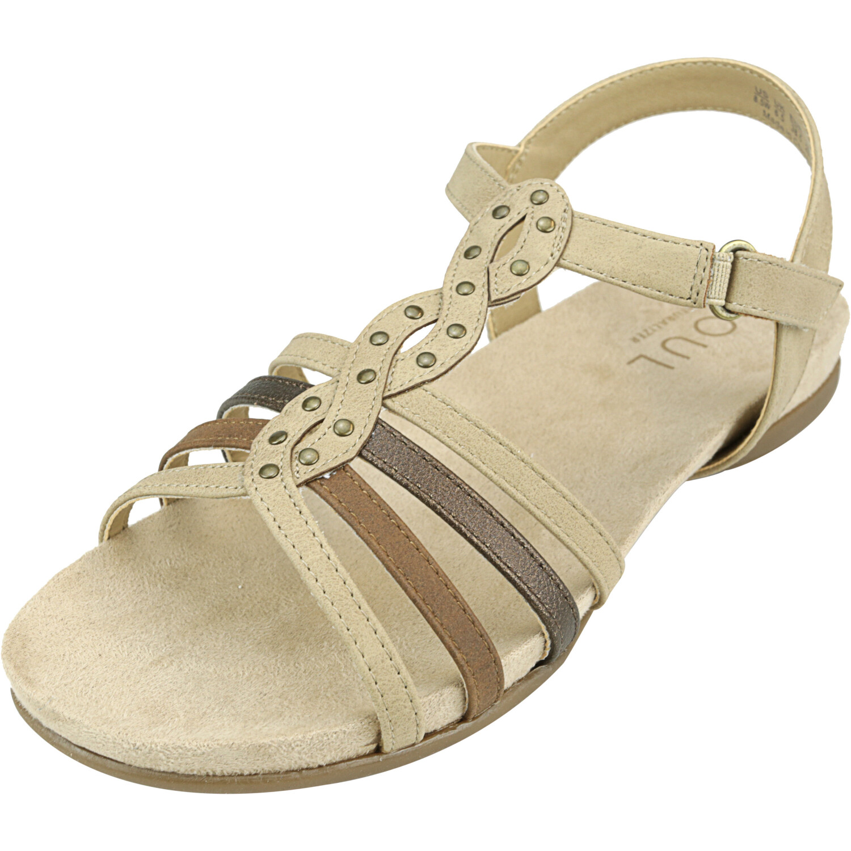 Naturalizer Women's Acadia Buff / Bronze Ankle-High Sandal - 9.5M