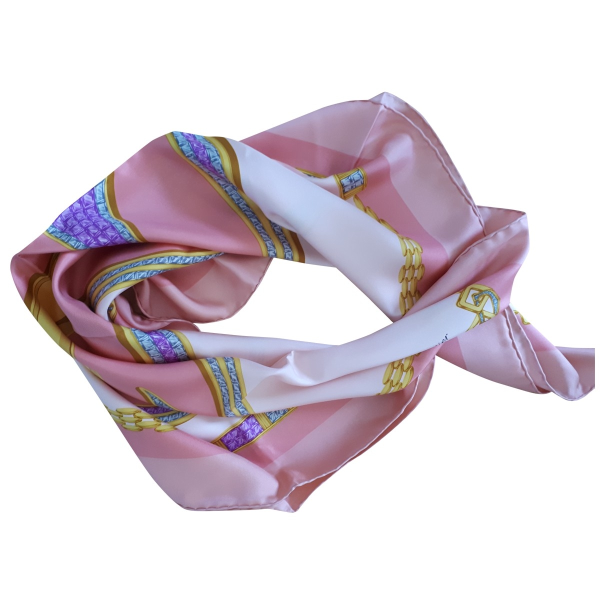 Cartier \N Pink Silk scarf for Women \N