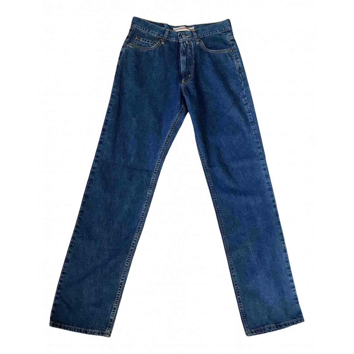 Carrera \N Blue Cotton Jeans for Men 31 US