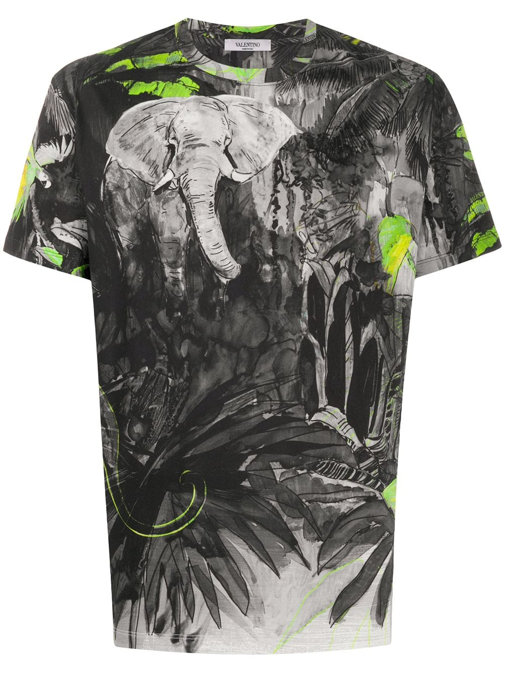 Mural Jungle Cotton T-shirt