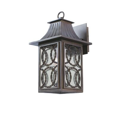 Monterey Outdoor 404220AGB 1-Light Small Wall Bracket in Aged