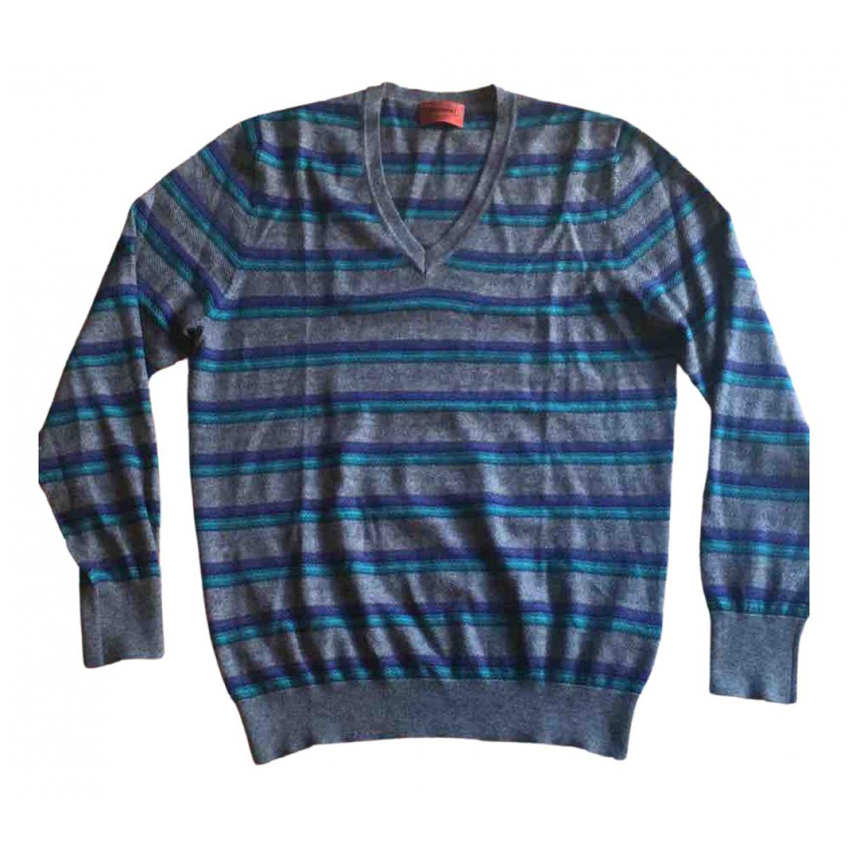 Missoni \N Pullover.Westen.Sweatshirts  in  Grau Kaschmir