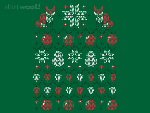 Ugly Holiday Sweater: 2013 T Shirt