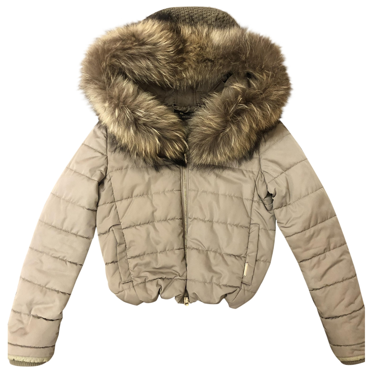 Non Signé / Unsigned \N Beige coat for Women S International
