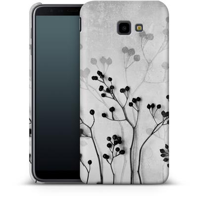 Samsung Galaxy J4 Plus Smartphone Huelle - Abstract Flowers 5 von Mareike Bohmer