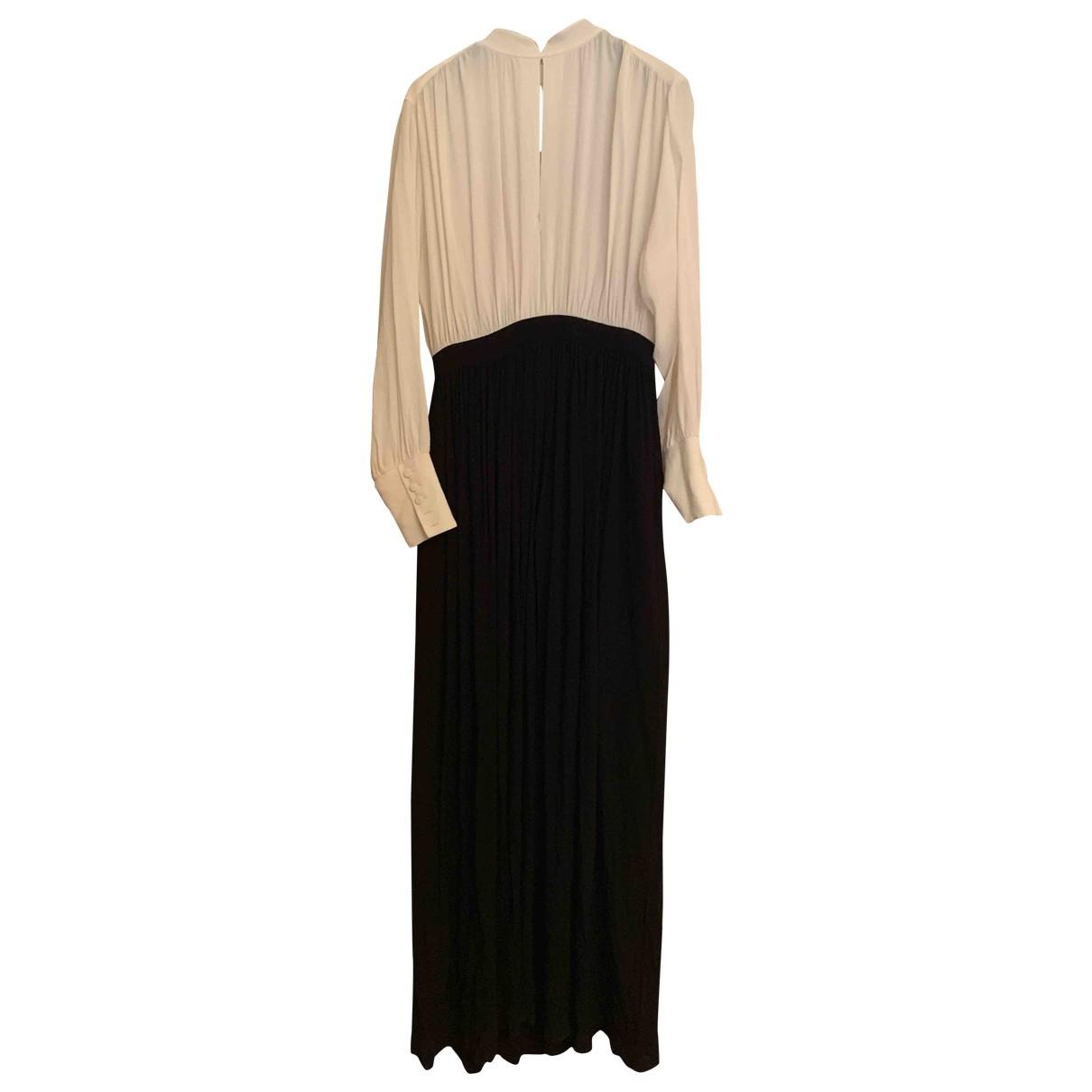 Mauro Grifoni \N Black Silk dress for Women 40 IT