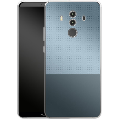 Huawei Mate 10 Pro Silikon Handyhuelle - Dot Grid Blue von caseable Designs