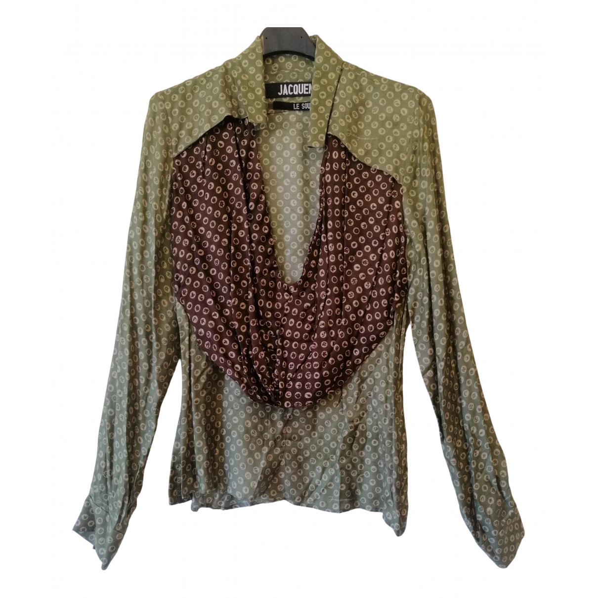 Jacquemus Le Souk Multicolour Silk  top for Women M International