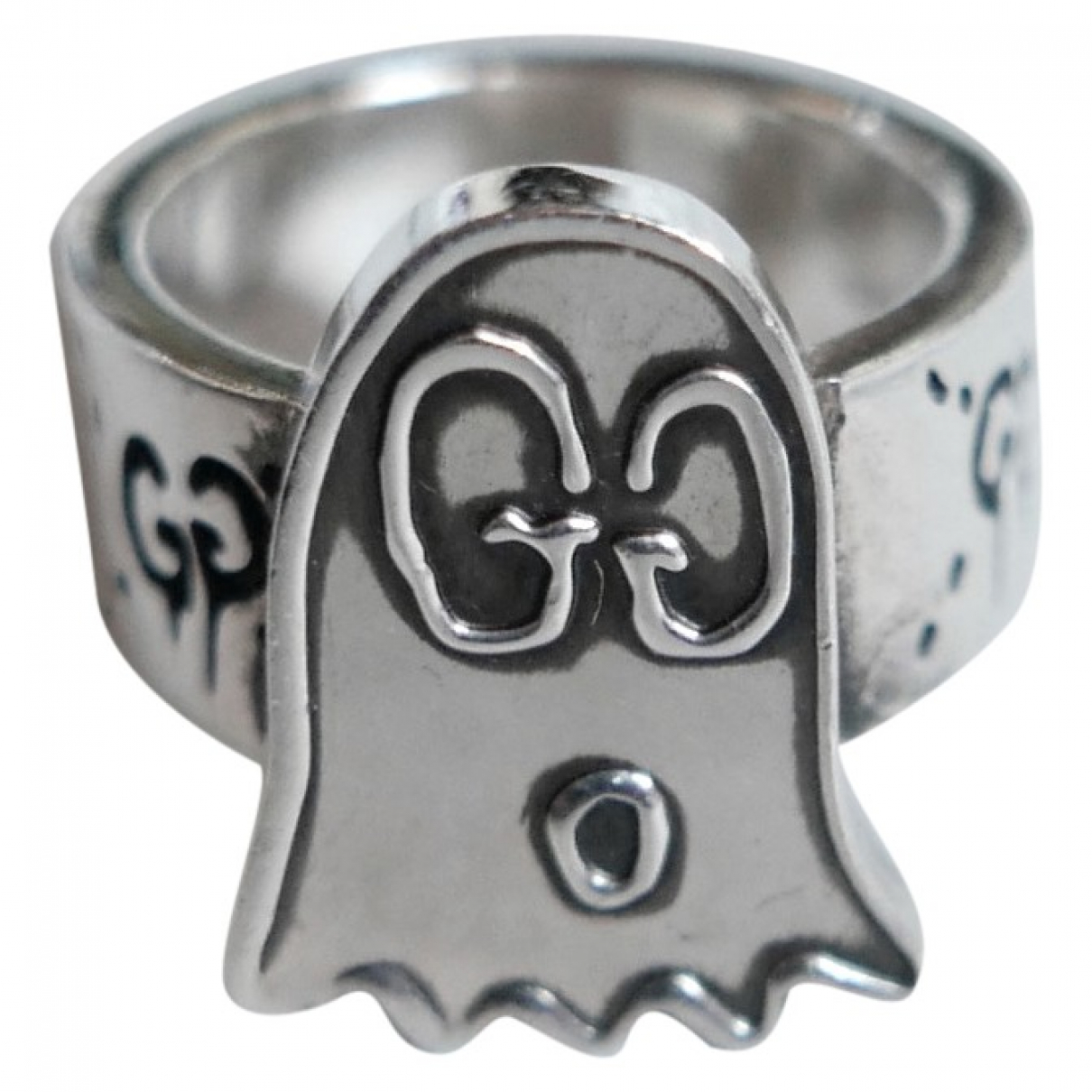 Gucci Icon Ring in  Silber Silber