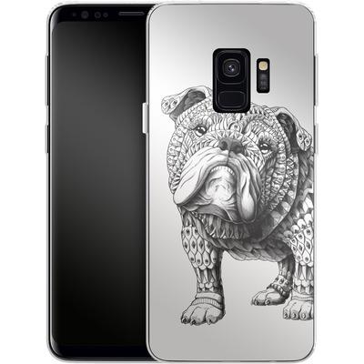 Samsung Galaxy S9 Silikon Handyhuelle - English Bulldog von BIOWORKZ