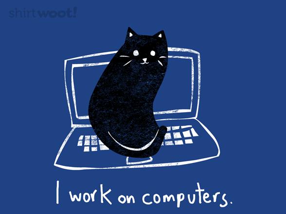 Computer Work T Shirt