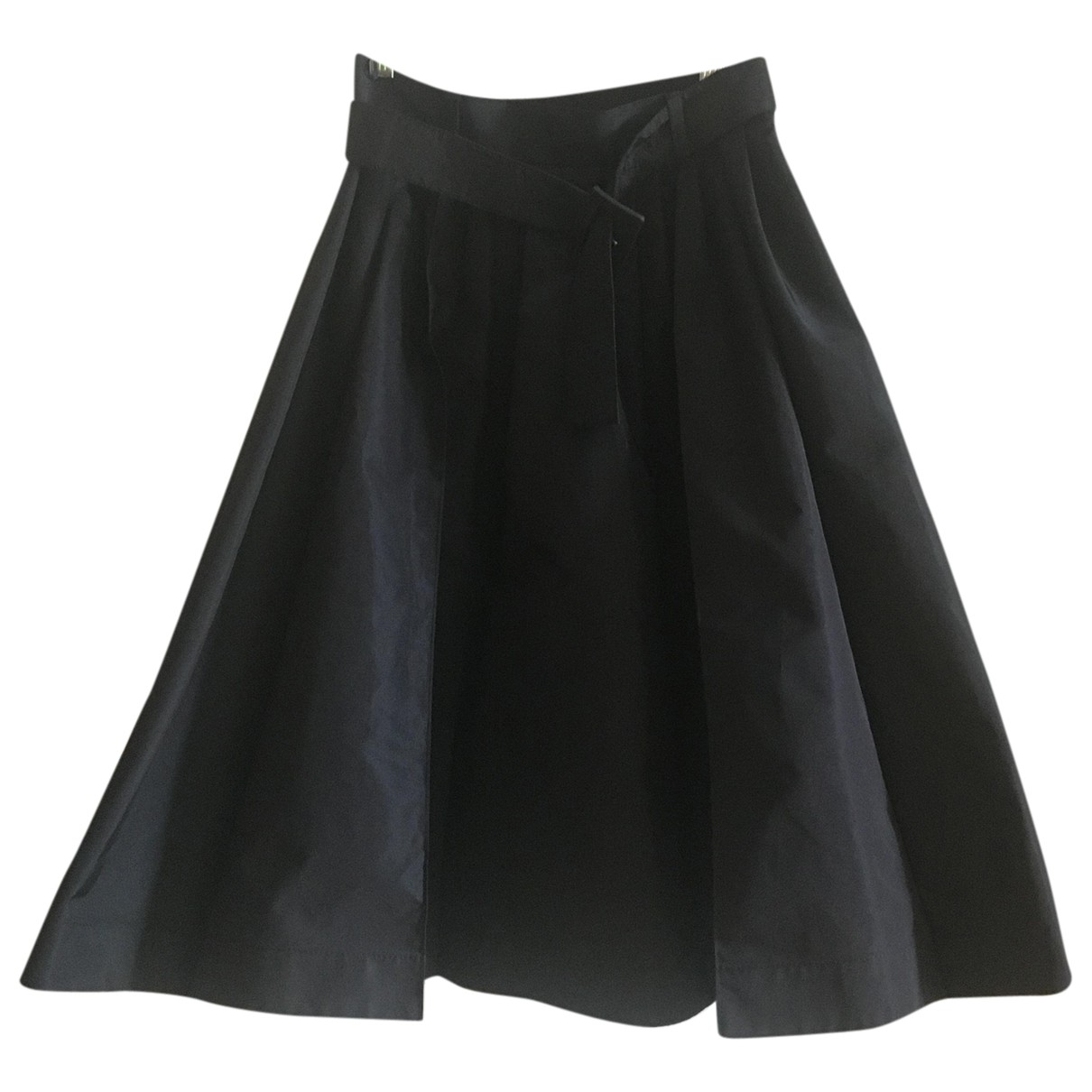 Prada \N Black Silk skirt for Women 38 IT