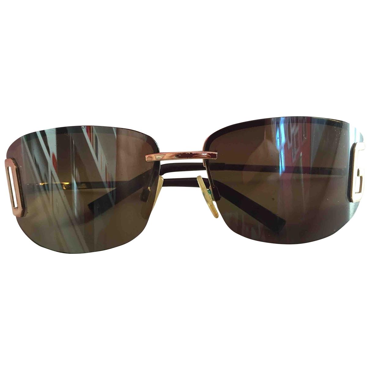 D&g \N Black Metal Sunglasses for Women \N