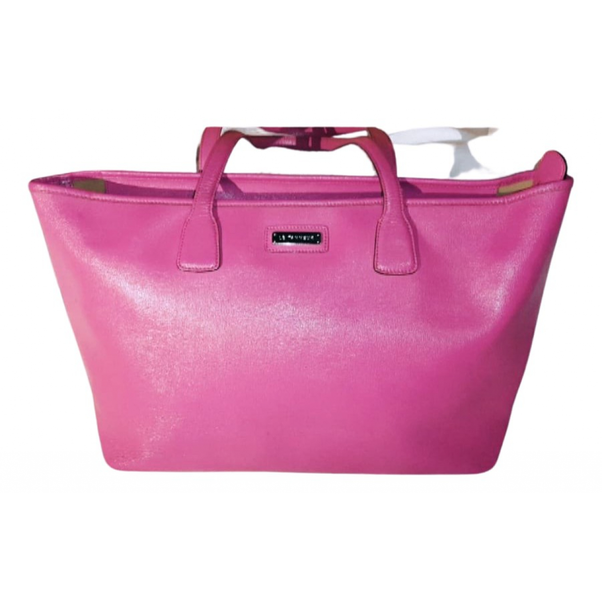Le Tanneur N Pink Leather handbag for Women N