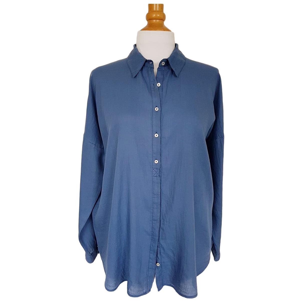 Ba&sh \N Top in  Blau Baumwolle