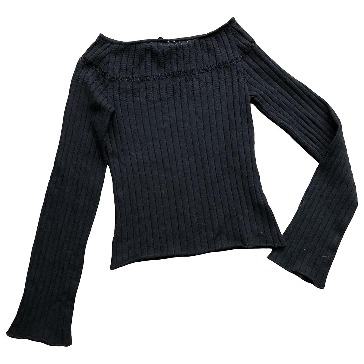 Class Cavalli \N Black Cotton Knitwear for Women S International