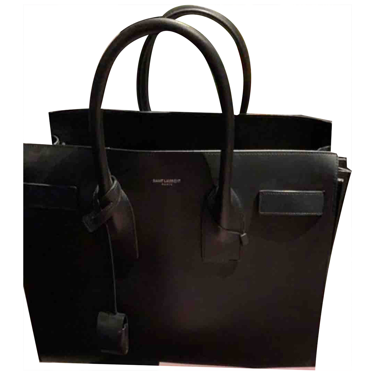 Saint Laurent Sac de Jour Black Leather handbag for Women N