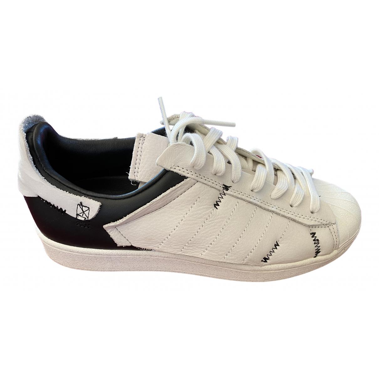 Adidas - Baskets   pour homme en cuir