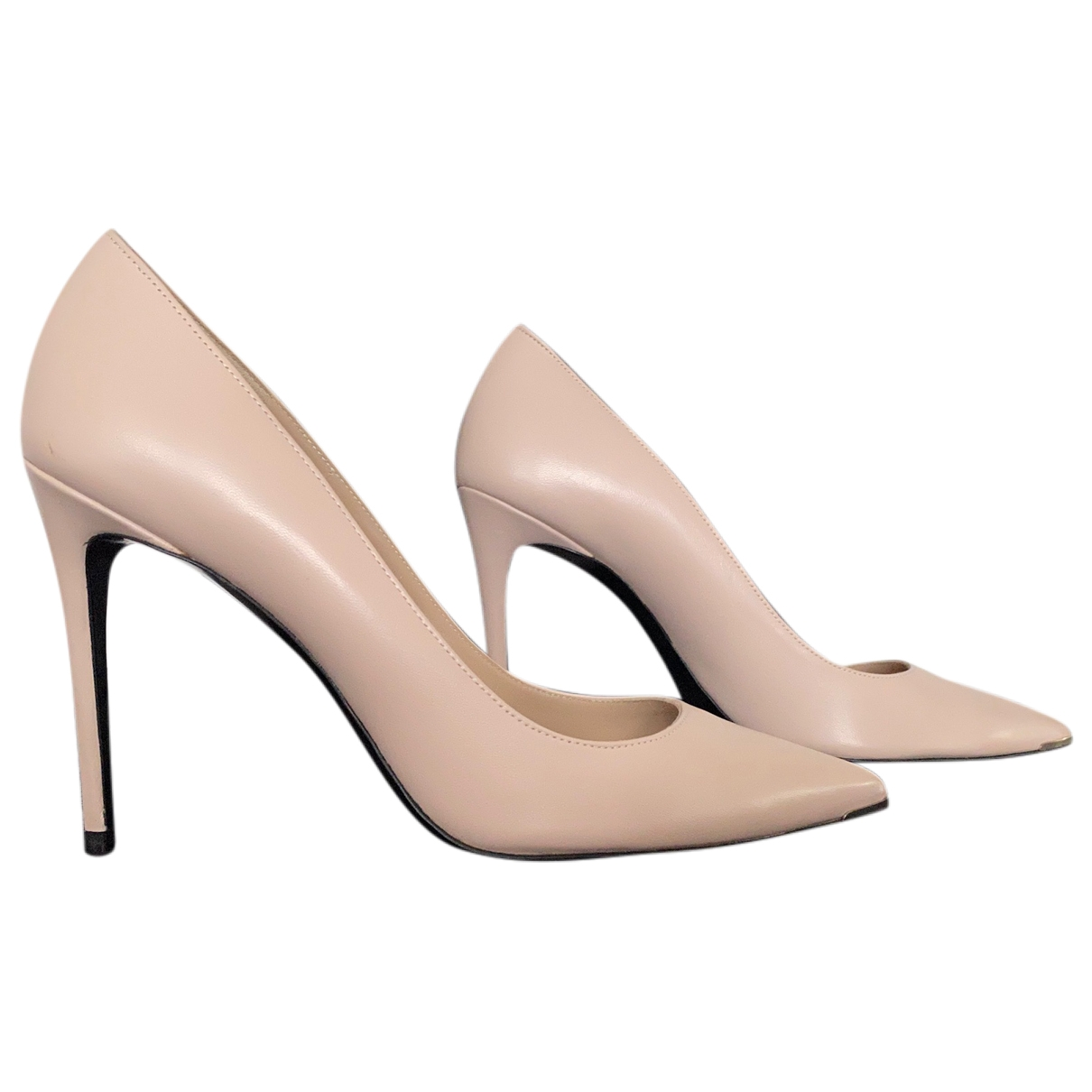 Barbara Bui \N Beige Leather Heels for Women 40 EU