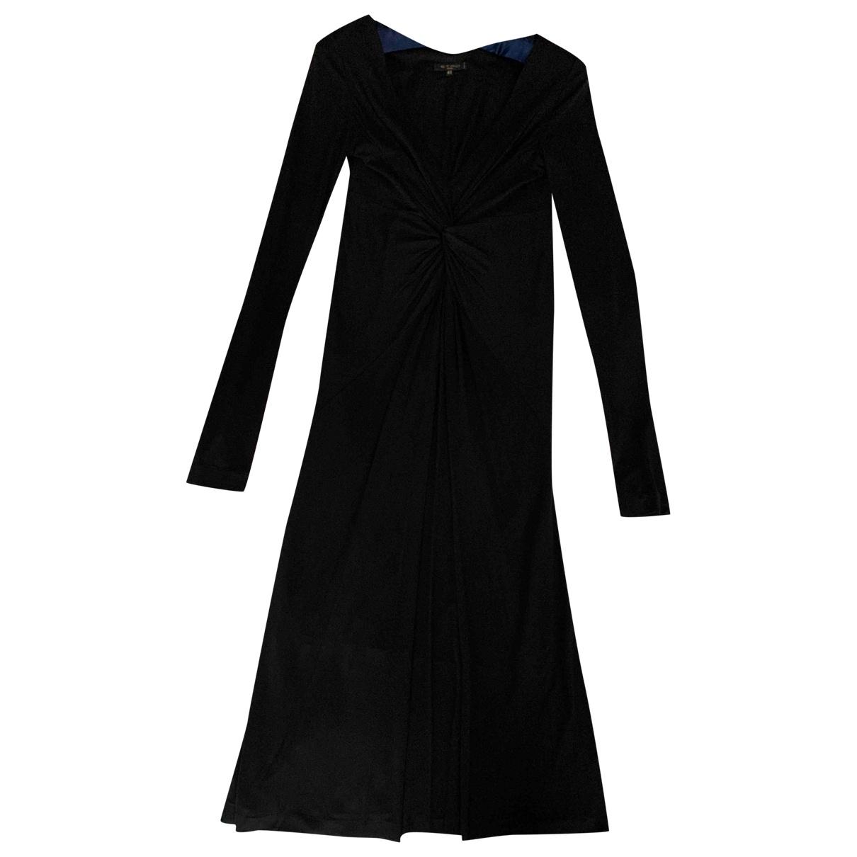 Etro \N Kleid in  Schwarz Viskose