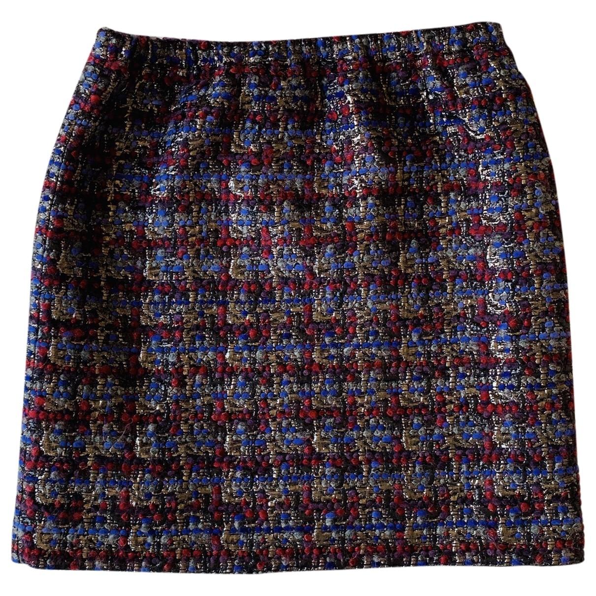 Miu Miu \N Multicolour Tweed skirt for Women 44 IT