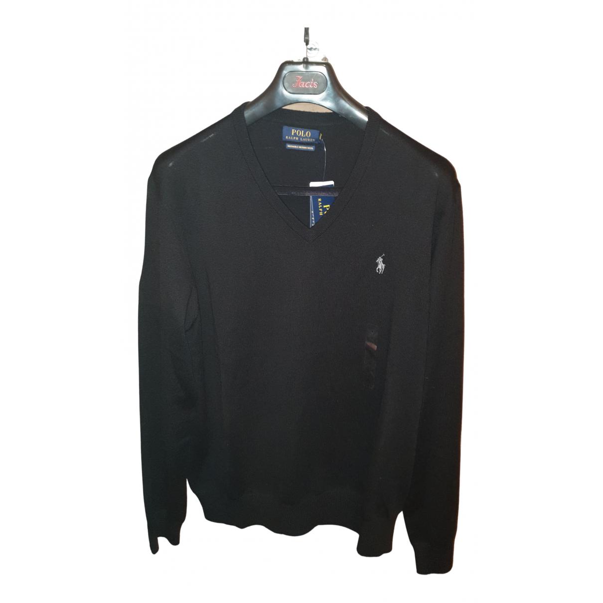 Polo Ralph Lauren \N Pullover.Westen.Sweatshirts  in  Schwarz Wolle
