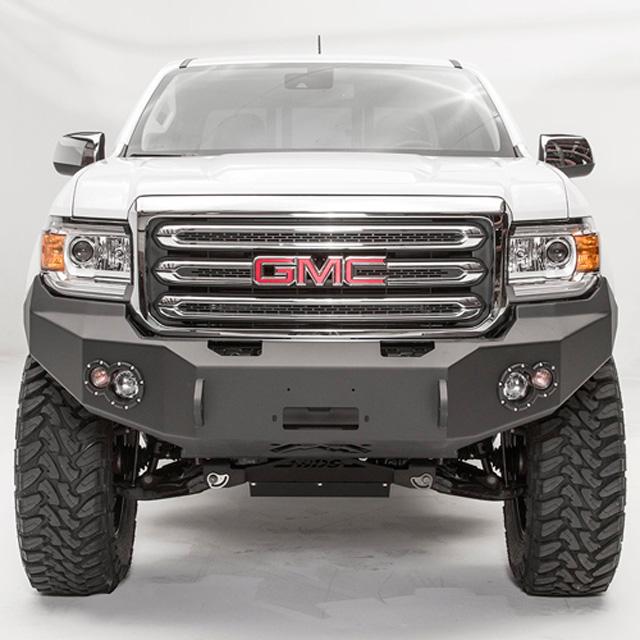 Fab Fours GC15-H3451-1 15-18 GMC Canyon Front Winch Bumper w/No Grill Guard