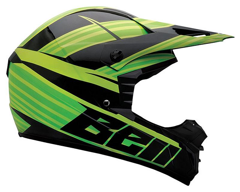 Bell Racing 2036740 SX-1 Crusade Green Helmet LG | 58-59