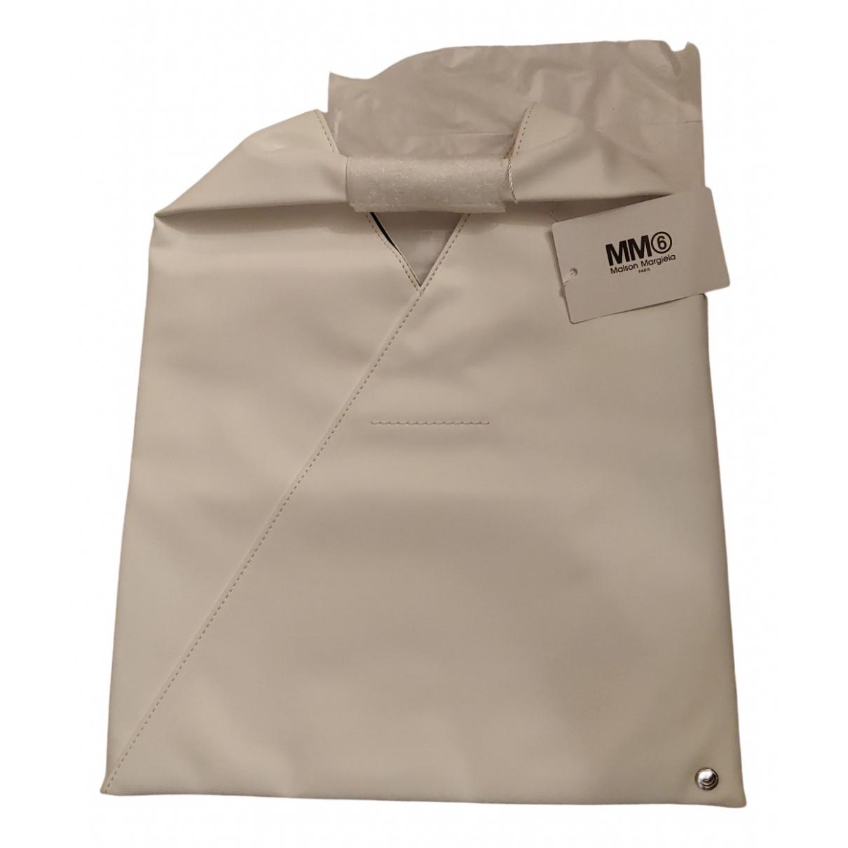 Mm6 \N Handtasche in  Weiss Synthetik