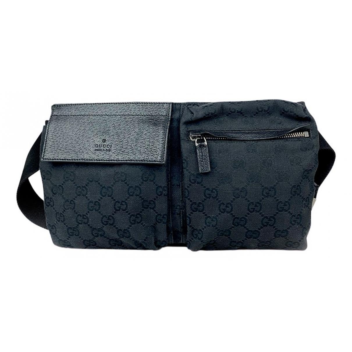 Gucci \N Black Cloth Clutch bag for Women \N